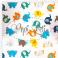 Kolorowe słonie