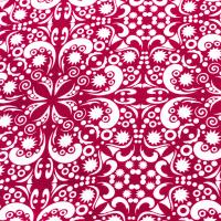 Tkanina bawełniana Chusta malinowa