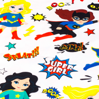 Tkanina bawełniana Super Girls
