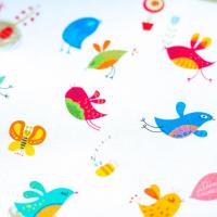 Tkanina bawełniana Zakochane ptaszki