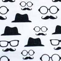 Tkanina bawełniana Detektyw